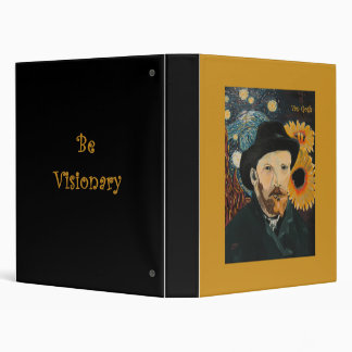 Be Visionary artist's binder