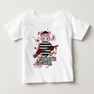 """""""Be Wanted""""- pig Baby T-Shirt"""