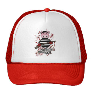 """""""Be Wanted""""- pig Trucker Hat"""