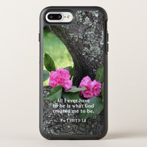 Be What God Created You To Be Flower Phone Case