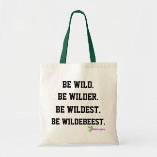 'Be Wildebeest' Tote