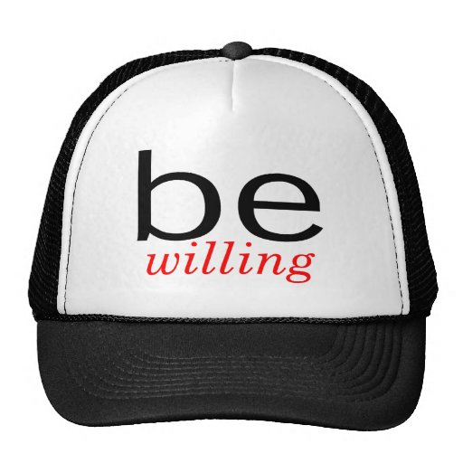 Be Willing Mesh Hats