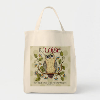 Be Wise - Grocery Bag