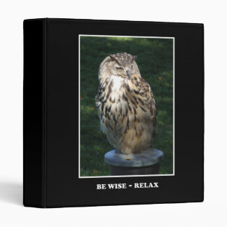 Be Wise - Relax Motivational Binder
