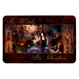 Be Witchy It's Samhain Witch Magnet