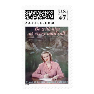 be with him postage stamp