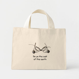 Be ye the saltof the earth grocery tote bag