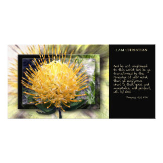 Be Ye Transformed Scripture Card Photo Card
