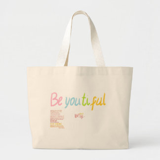 be You Beautiful Canvas Bags