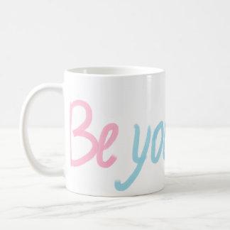 be You Beautiful Classic White Coffee Mug