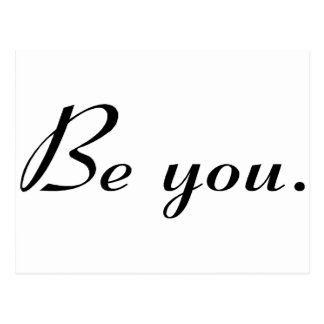 Be You Postcard