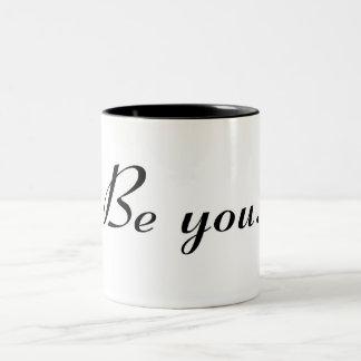 Be You Two-Tone Coffee Mug