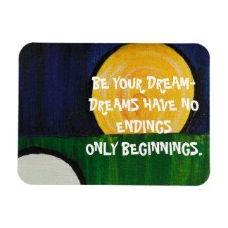 BE YOUR DREAM RECTANGULAR PHOTO MAGNET