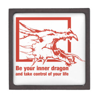 Be Your Inner Dragon And Take Control Of Your Life Jewelry Box