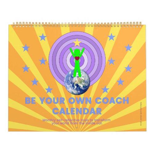 Calendar with motivational messages