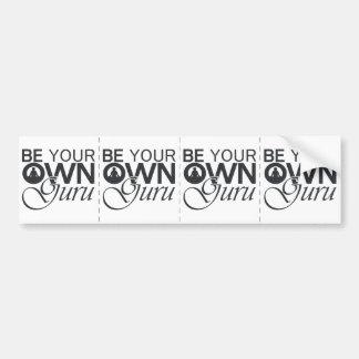 Be Your Own Guru Bumper Sticker