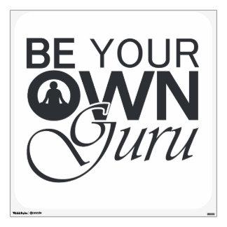 Be Your Own Guru Wall Sticker