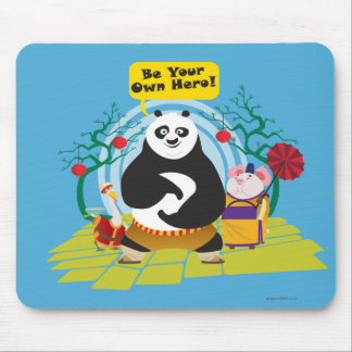 Be Your Own Hero Mouse Pad