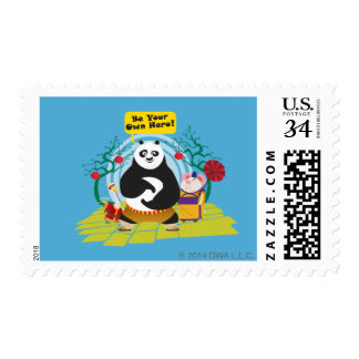 Be Your Own Hero Postage Stamp