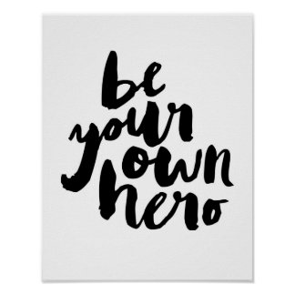 Be Your Own Hero Gifts on Zazzle