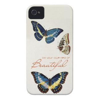 Be Your Own Kind of Beautiful. Monarch butterflies iPhone 4 Case-Mate Case