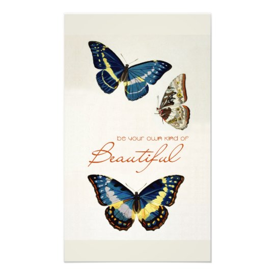 Be Your Own Kind of Beautiful. Monarch butterflies Photo Print