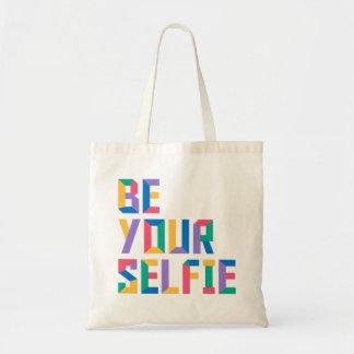 Be Your Selfie Tote Bag