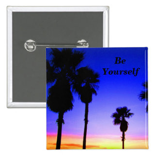 Be Yourself # 2_  Button_by Elenne Pinback Button