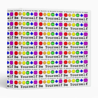 Be Yourself 3 Ring Binder