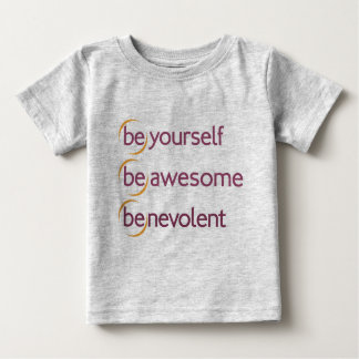 (be)yourself, (be)awesome tee
