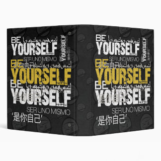 Be Yourself Binder