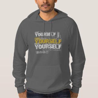 Be Yourself California Fleece Pullover Hoodie