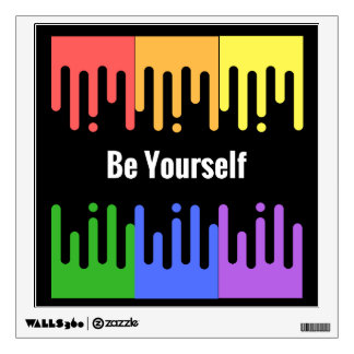 Be Yourself Canvas print Wall Decal