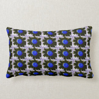 Be Yourself! Exposed Flower Design Lumbar Pillow