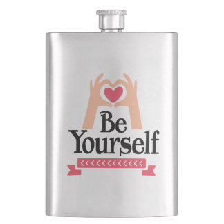 Be Yourself Flask