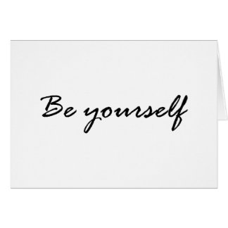 Be Yourself Gift Card