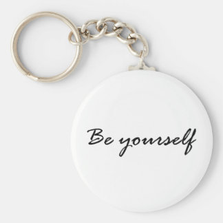 Be Yourself Gift Key Chains