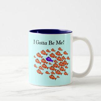 Be Yourself Goldfish Mug