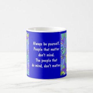 be yourself magic mug