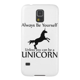 Be Yourself Unicorn Cases For Galaxy S5