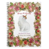 Be Yourself Unicorn Cat Notebook