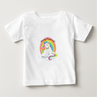 Be Yourself. Unicorn Magical Design Baby T-Shirt