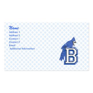 Bea Blue Jay Business Card