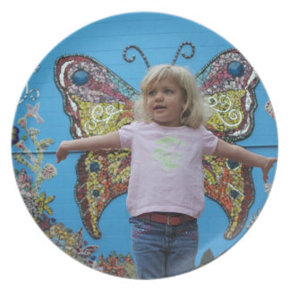 Bea butterfly plate