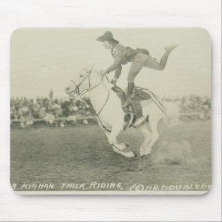 Bea Kirnan trick riding. Mouse Pad