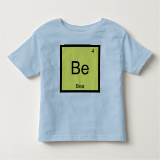 Bea Name Chemistry Element Periodic Table Toddler T-shirt