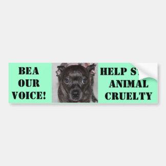 Bea Our Voice Bumper Sticker