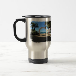 BEAACC Beach Access 15 Oz Stainless Steel Travel Mug