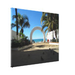 BEAACC Beach Access Gallery Wrapped Canvas