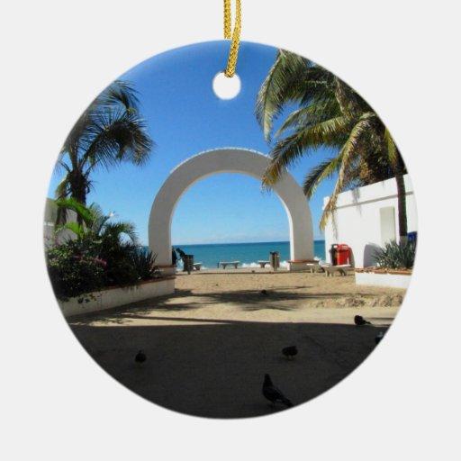 BEAACC Beach Access Ornament